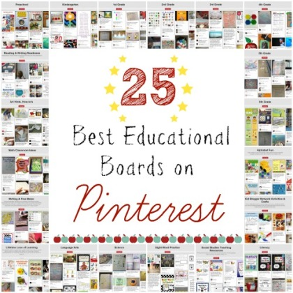 Best educational boards on Pinterest