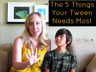 The 5 Things Your Tween Needs Most snapshot