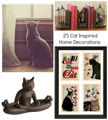25 Cat Inspired Home Decorations -1