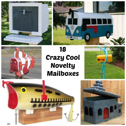 18 Crazy Cool Novelty Mailbox