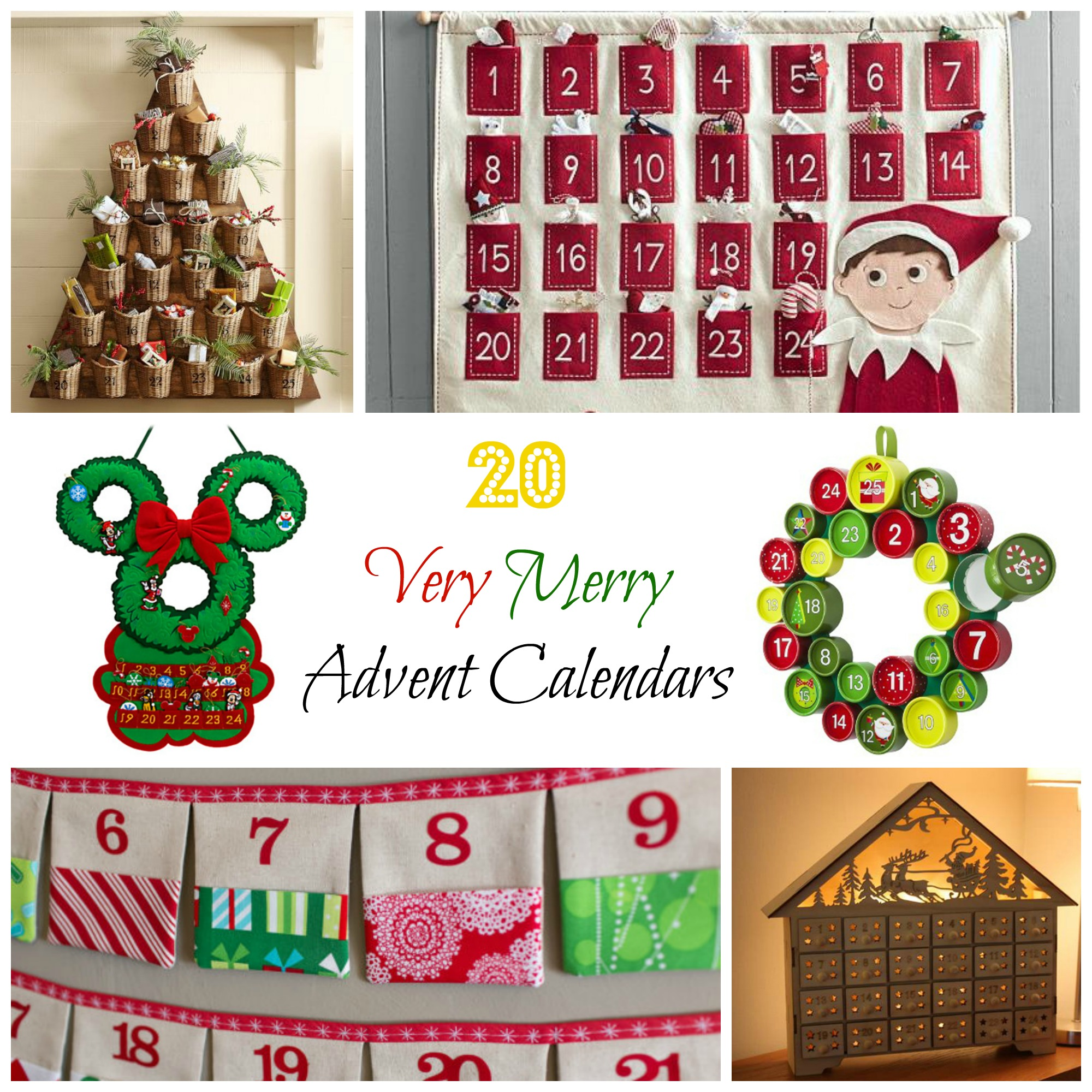 20 advent calendars for a cheerful christmas countdown for Make your own christmas countdown calendar