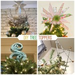 DIY tree toppers