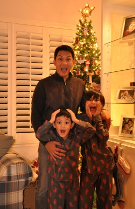 Excited Christmas picture tradition - Lori Garcia - ABCF