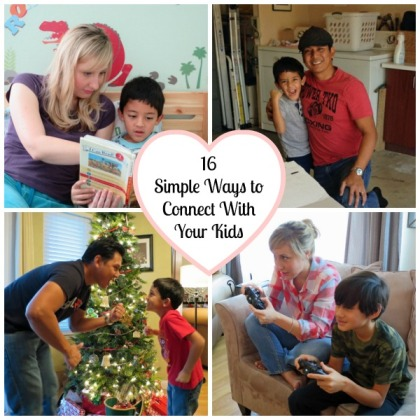 16 Simple Ways to Connect With Your Kids